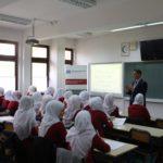 WAQF Smartboards for Visoko Madrasa