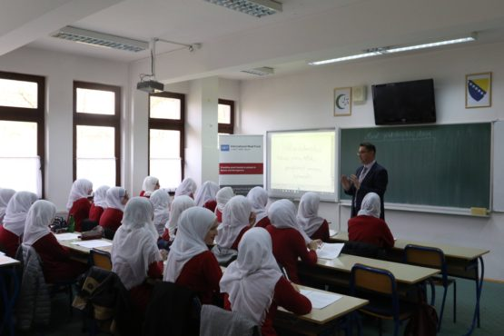WAQF Smartboards for Visoko Madrasa