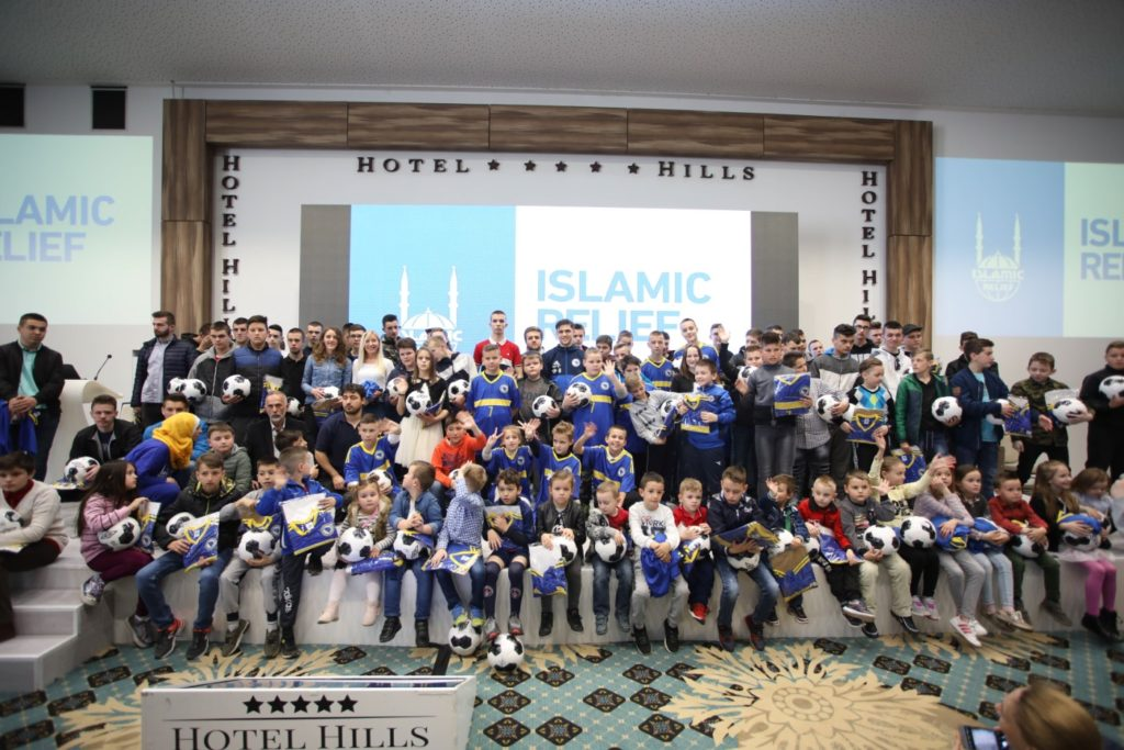 Muhamed Besic Visit for Orphans, Bosnia and Herzegovina